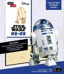 IncrediBuilds: Star Wars: R2-D2 3D Wood Model