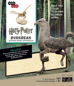 IncrediBuilds: Harry Potter: Buckbeak 3D Wood Model and Booklet