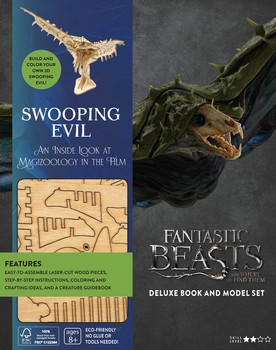 IncrediBuilds: Fantastic Beasts and Where to Find Them: Swooping Evil Deluxe Book and Model Set