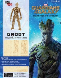 Marvel: Groot: Guardians of the Galaxy Deluxe Book and Model Set