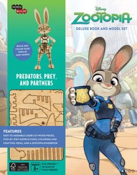 IncrediBuilds: Disney: Zootopia Deluxe Book and Model Set