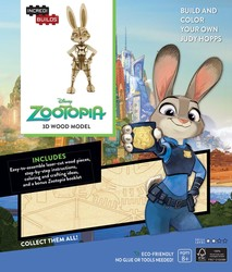 IncrediBuilds: Disney: Zootopia 3D Wood Model