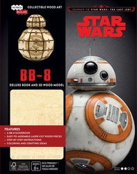 IncrediBuilds: Journey to Star Wars: The Last Jedi: BB-8 Deluxe Book and Model S