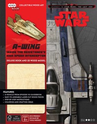 IncrediBuilds: Journey to Star Wars: The Last Jedi: A-wing Deluxe Book and Model