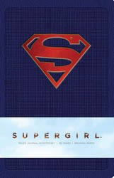 Supergirl Hardcover Ruled Journal
