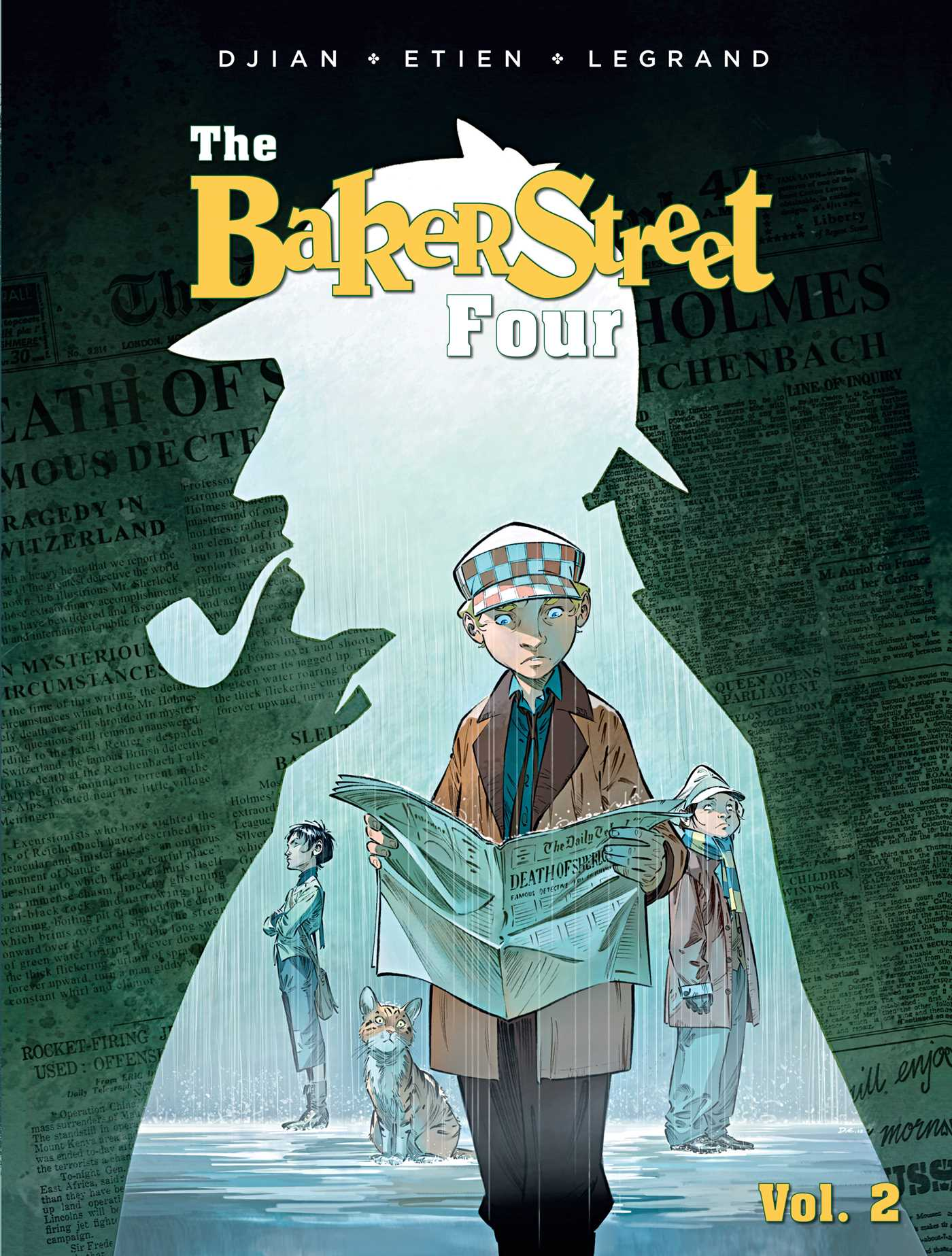 The baker street four vol 2 9781683830191 hr