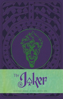 The Joker Ruled Pocket Journal