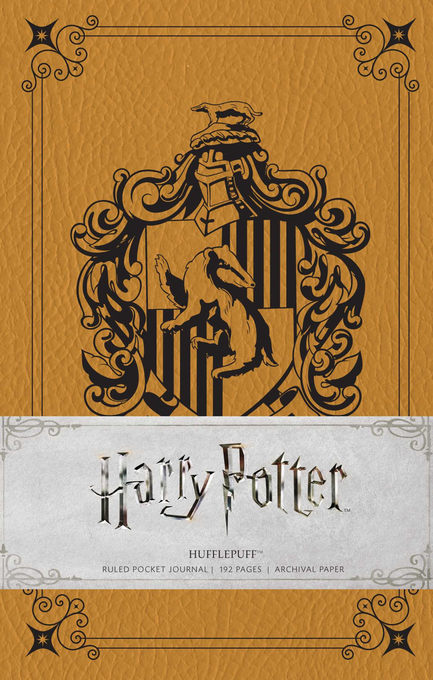 Harry Potter Book Cover Hd : Harry potter hufflepuff ruled pocket journal book by