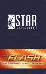 The Flash: S.T.A.R. Labs Ruled Pocket Journal