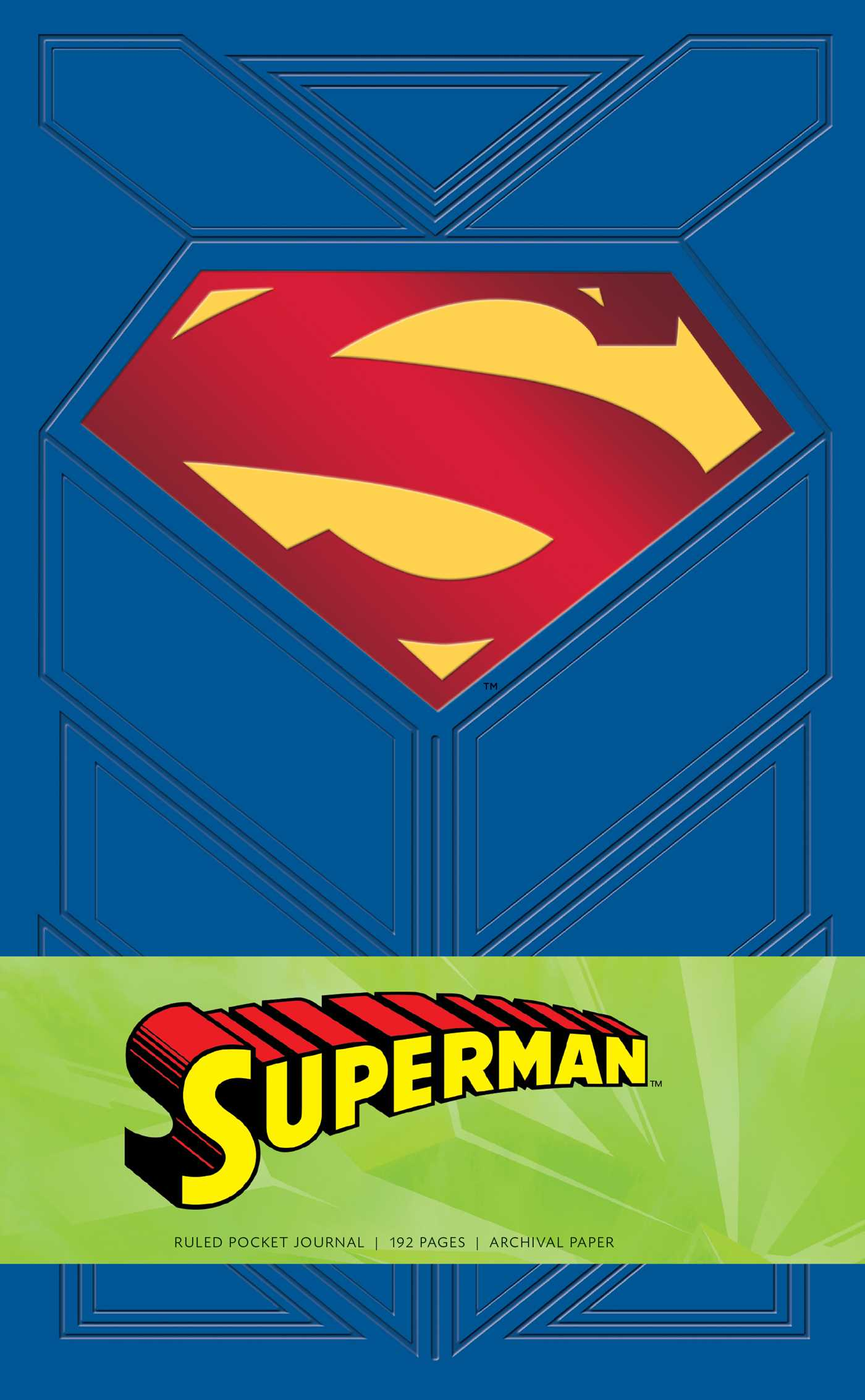 Superman ruled pocket journal 9781683830412 hr