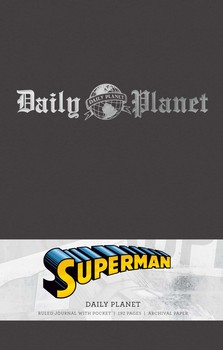 Superman: Daily Planet Hardcover Ruled Journal