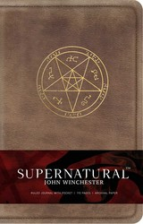 Supernatural: John Winchester Hardcover Ruled Journal