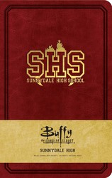 Buffy the Vampire Slayer Sunnydale High Hardcover Ruled Journal