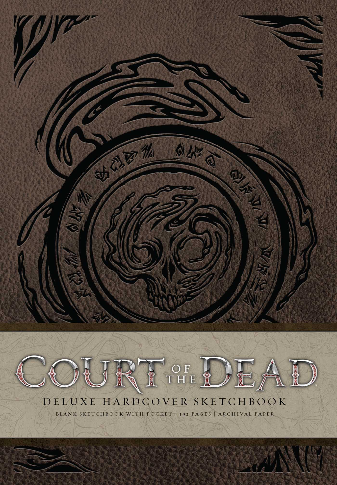 Court of the dead hardcover blank sketchbook 9781683831235 hr
