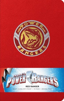 Power Rangers: Red Ranger Hardcover Ruled Journal