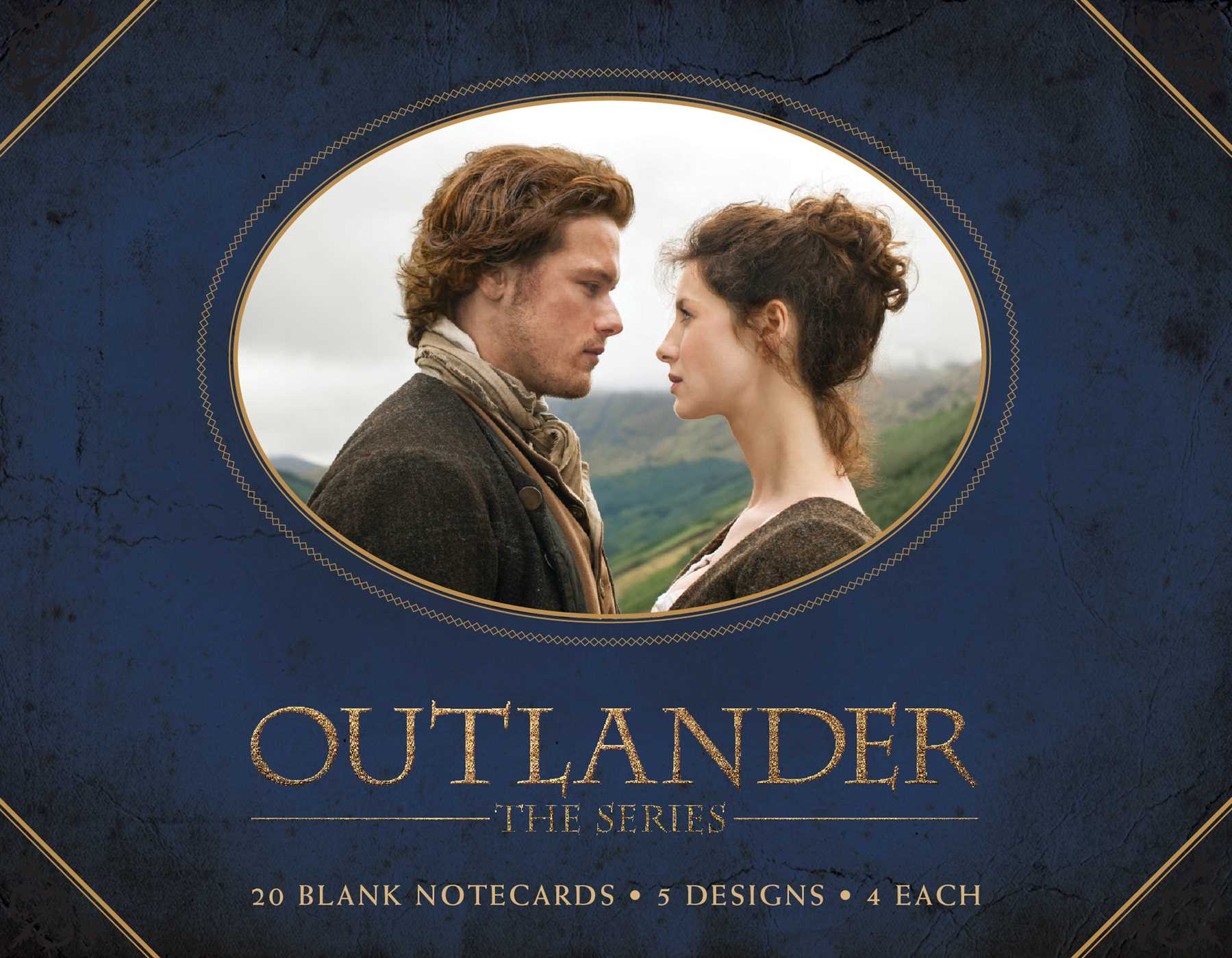 Outlander blank box notecards 9781683831488 hr