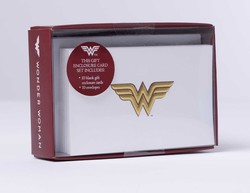 DC Comics: Wonder Woman Foil Gift Enclosure Cards (Set of 10)