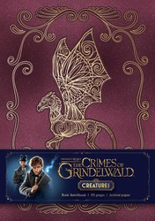 Fantastic Beasts: The Crimes of Grindelwald: Magical Creatures Hardcover Blank Sketchbook