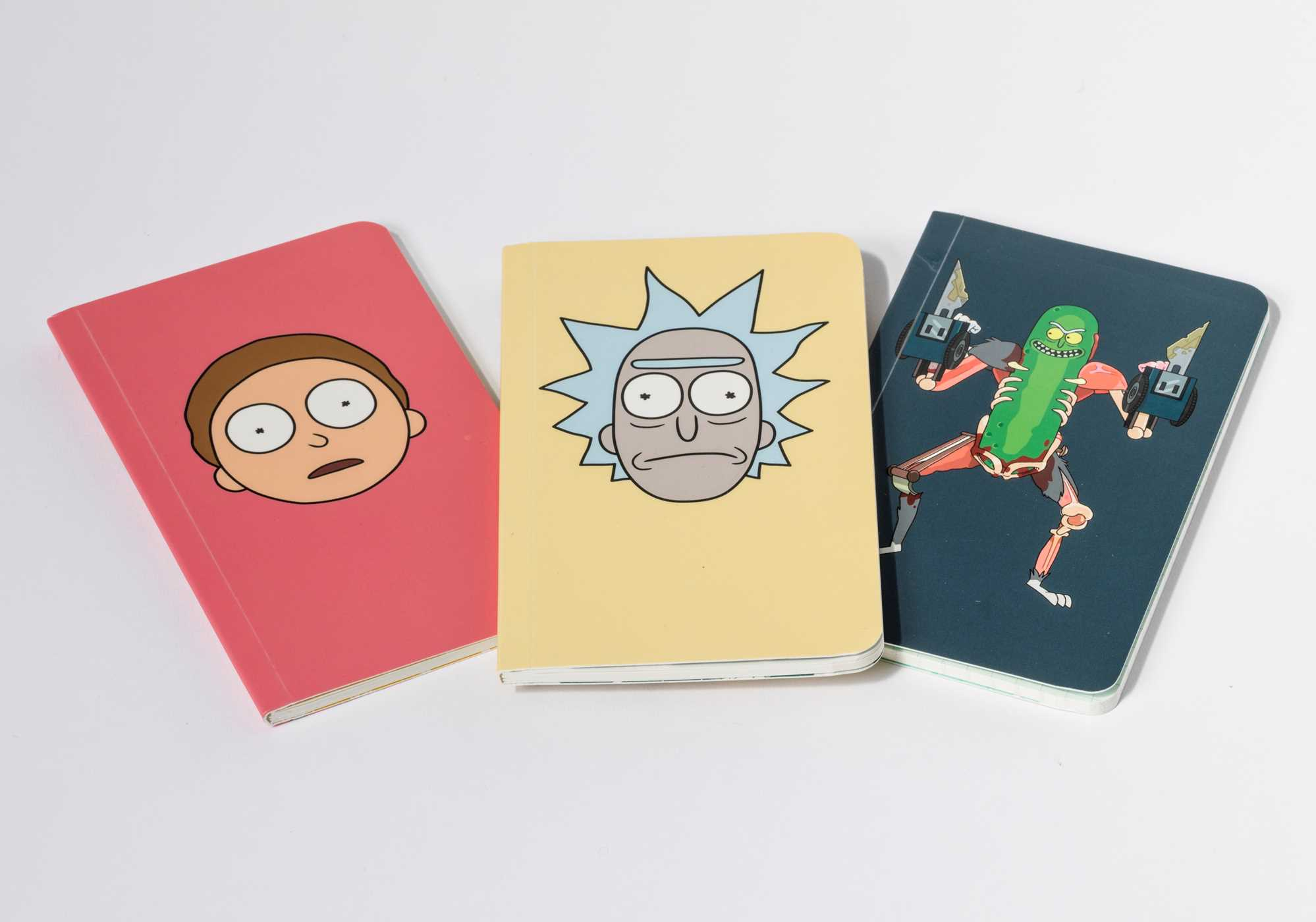 Rick and morty pocket notebook collection set of 3 9781683833079 hr