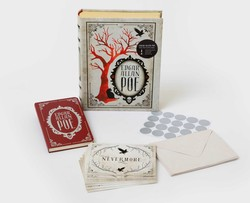 Edgar Allan Poe Deluxe Note Card Set (With Keepsake Book Box)