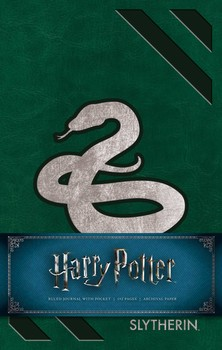 Harry Potter: Slytherin Hardcover Ruled Journal