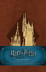Harry Potter: Hogwarts Hardcover Ruled Journal