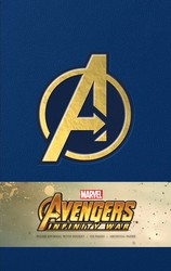 Marvel's Avengers: Infinity War Hardcover Ruled Journal