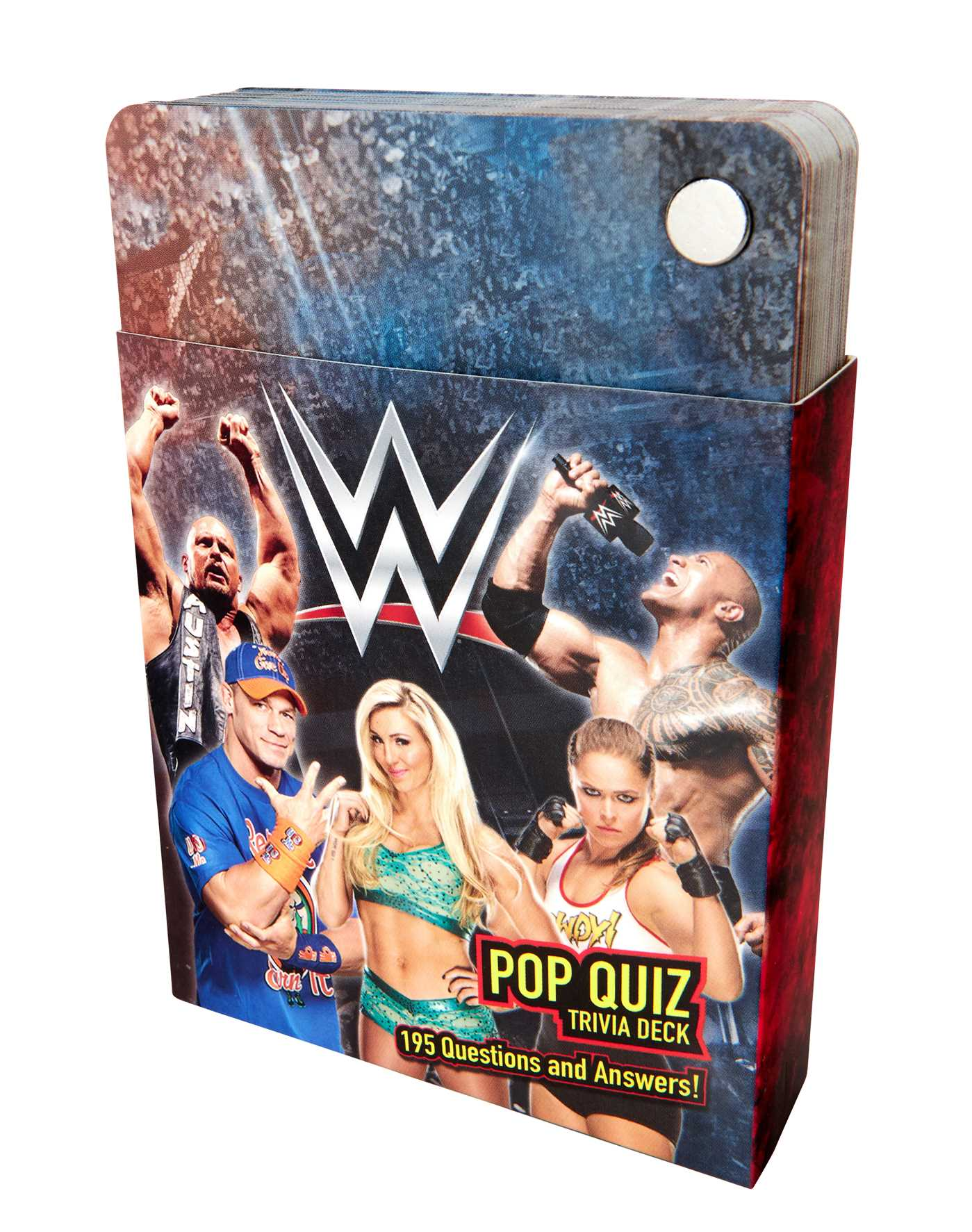 Wwe pop quiz trivia deck 9781683834410 hr