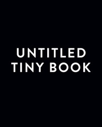 Untitled Tiny Book