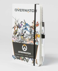 Overwatch: Hardcover Ruled Journal With Pen