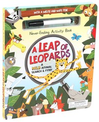 Never-Ending Activity Book: A Leap of Leopards