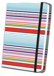 Thin Striped Fabric Journal