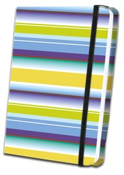 Thick Striped Fabric Journal