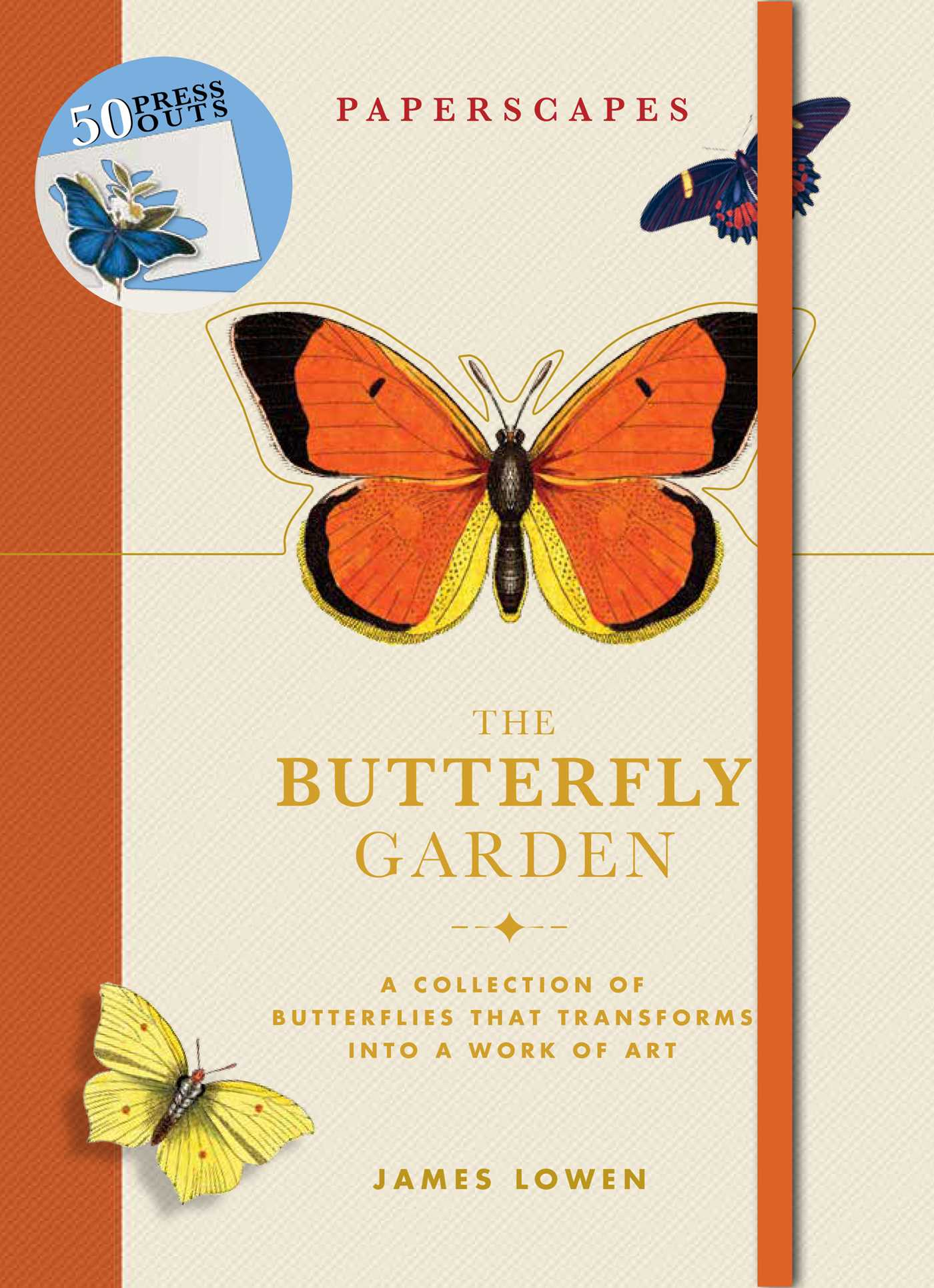 book cover image jpg paperscapes the butterfly garden - Butterfly Garden Book