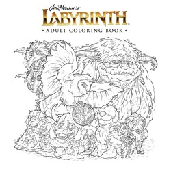Jim Henson's Labyrinth Adult Coloring Book