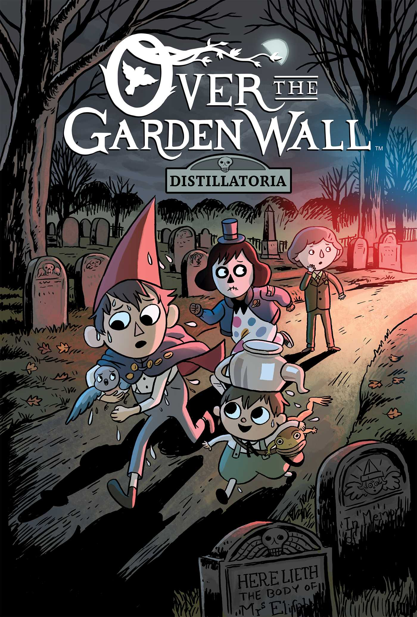 book cover image jpg over the garden wall original graphic novel distillatoria - Garden Wall