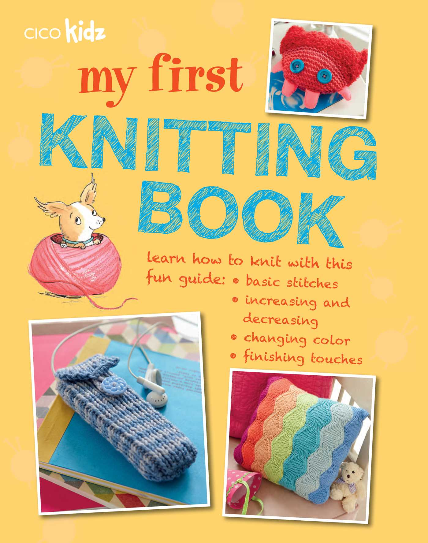 Knitting Books : My first knitting book by susan akass official