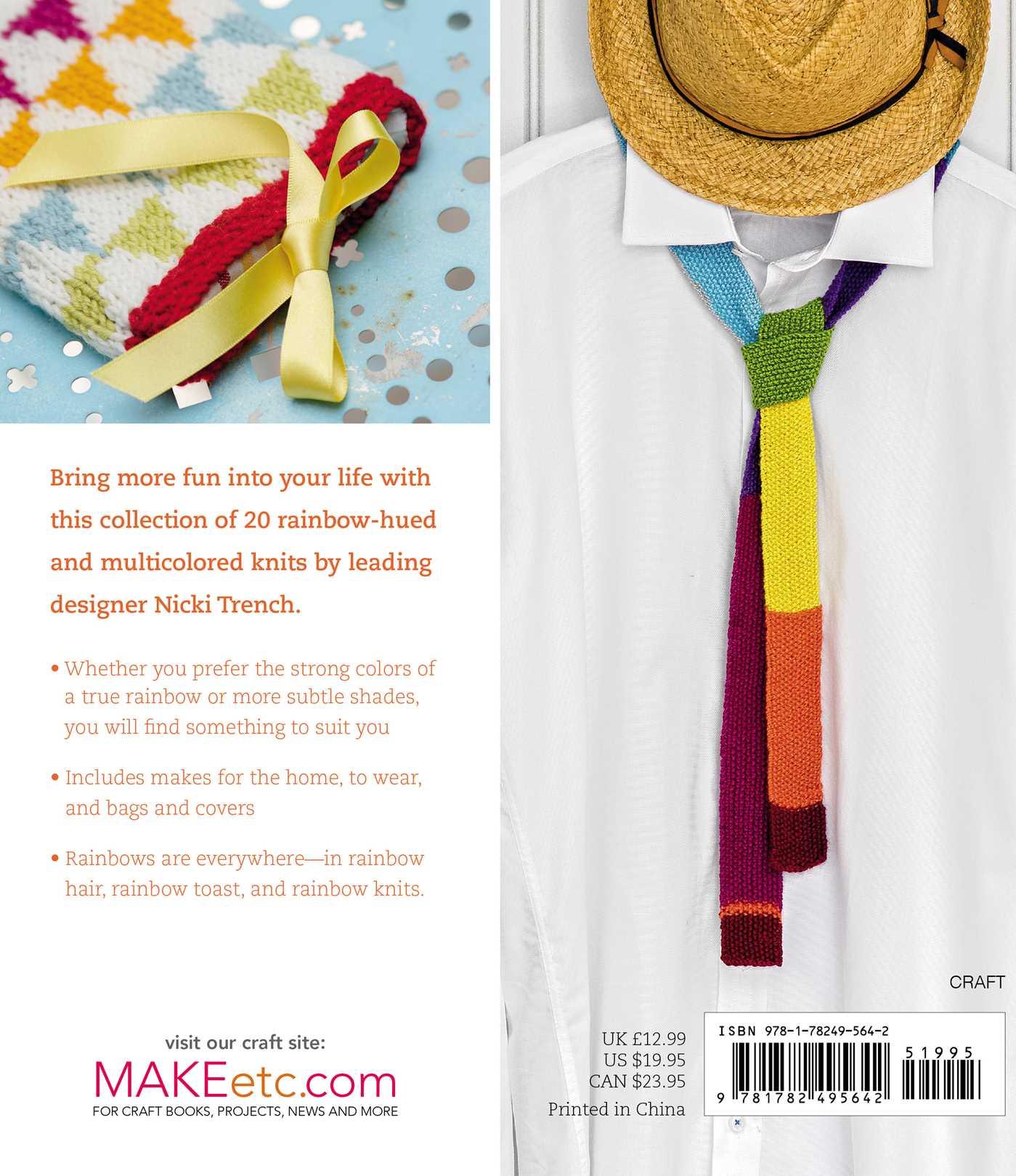 rainbow knits book by nicki trench official publisher page