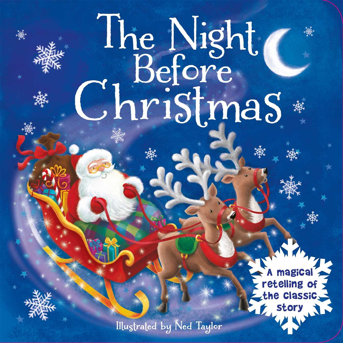 The night before christmas book by ned taylor official