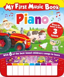 My First Music Book: Piano (Sound Book)