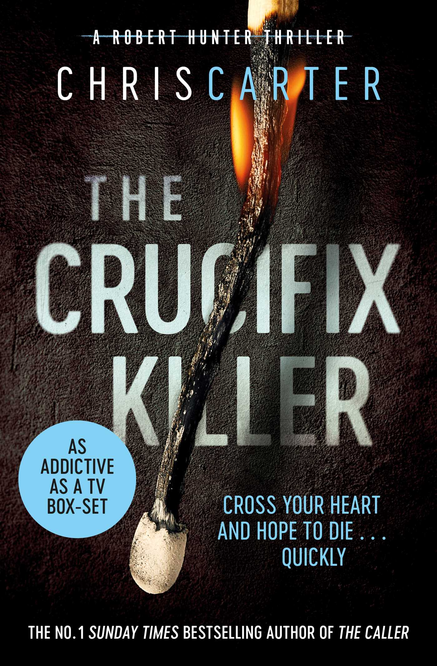The crucifix killer 9781847378415 hr