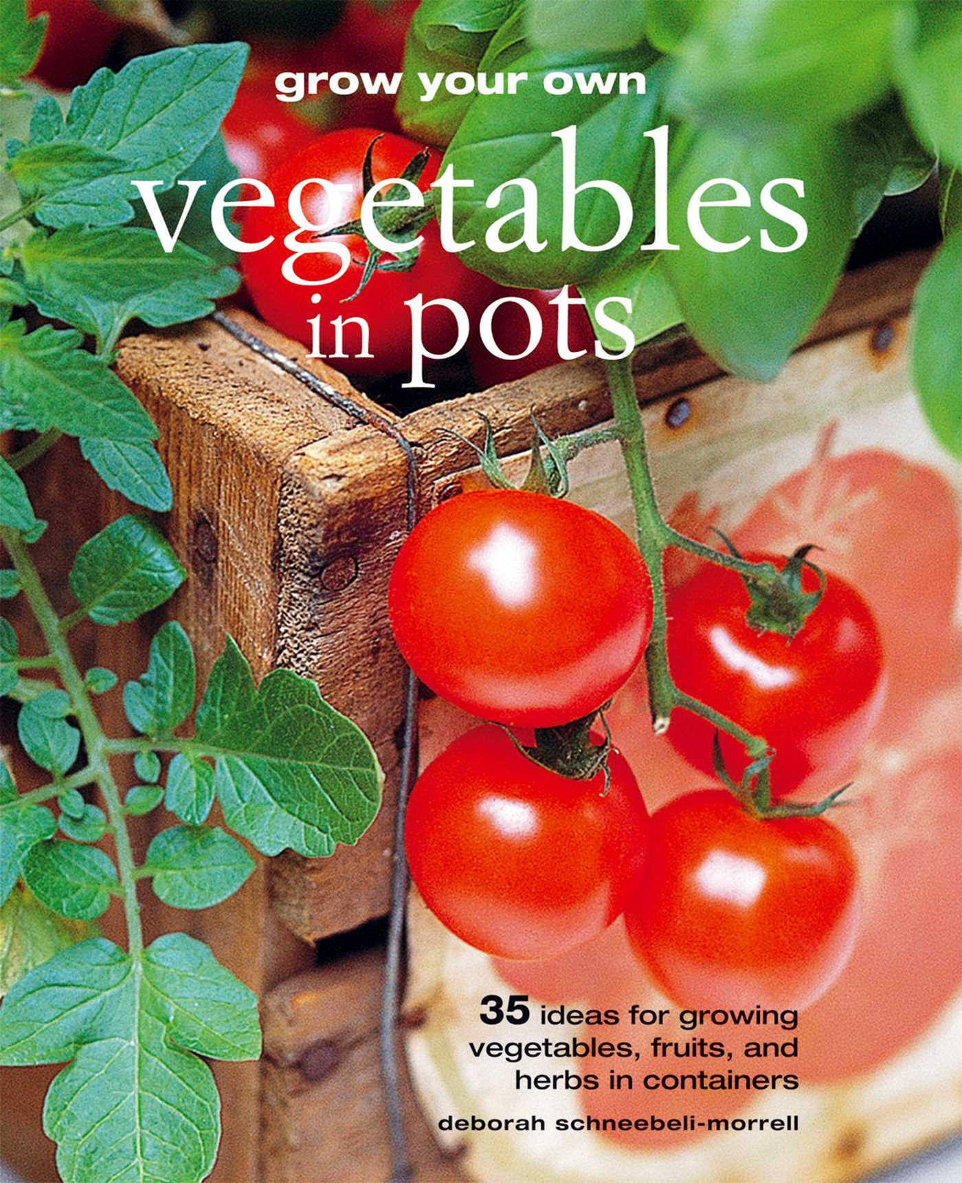 Grow your own vegetables in pots book by deborah for Grow your own vegetables