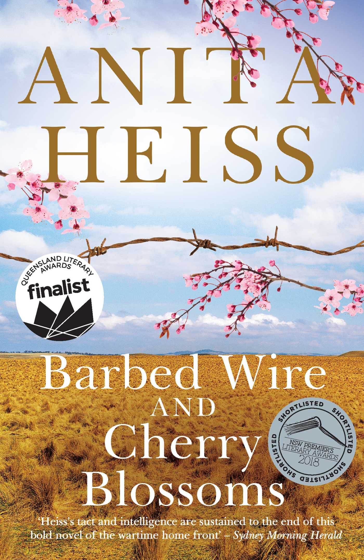 Barbed wire and cherry blossoms 9781925184853 hr
