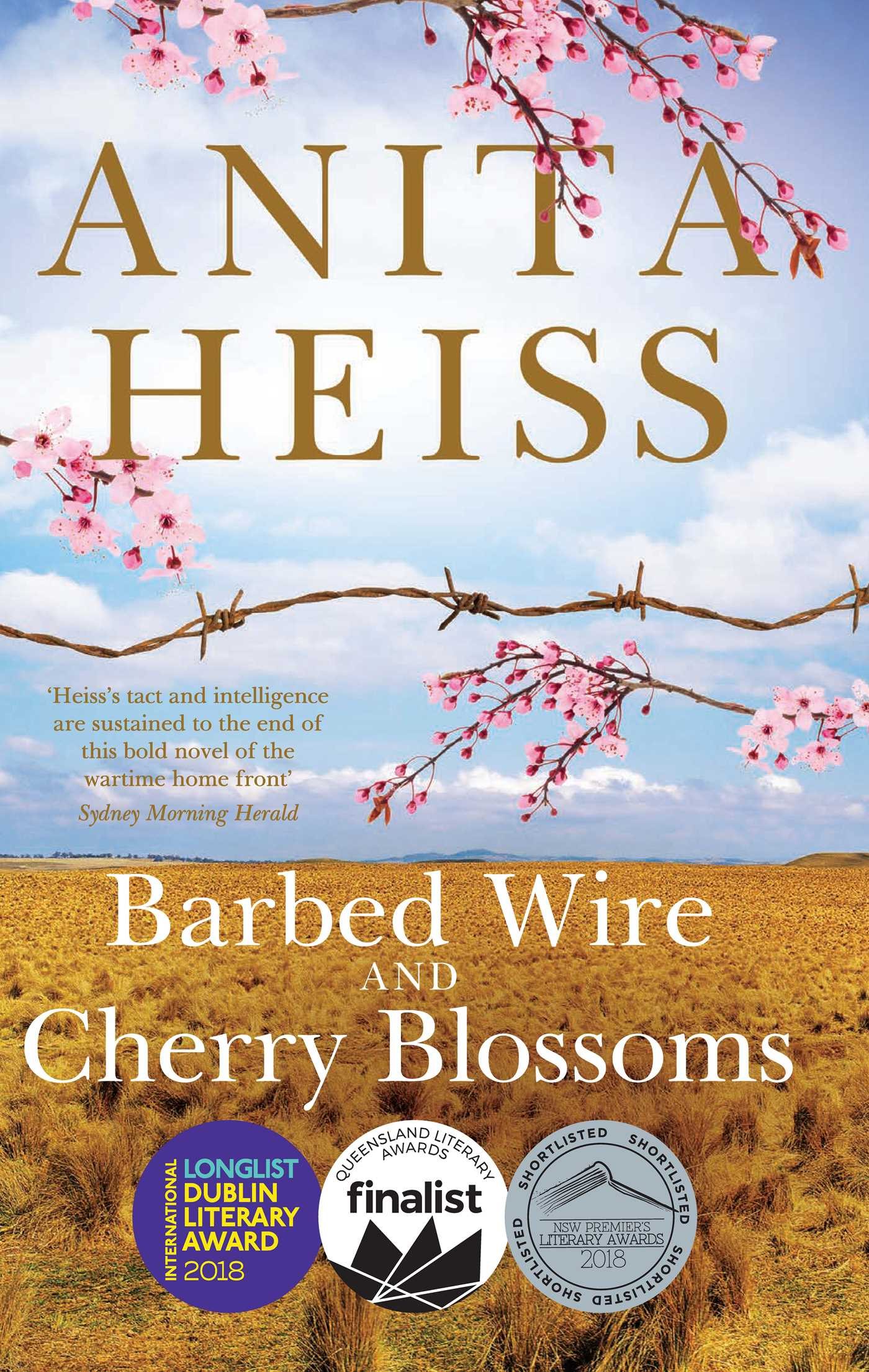 Barbed wire and cherry blossoms 9781925184860 hr