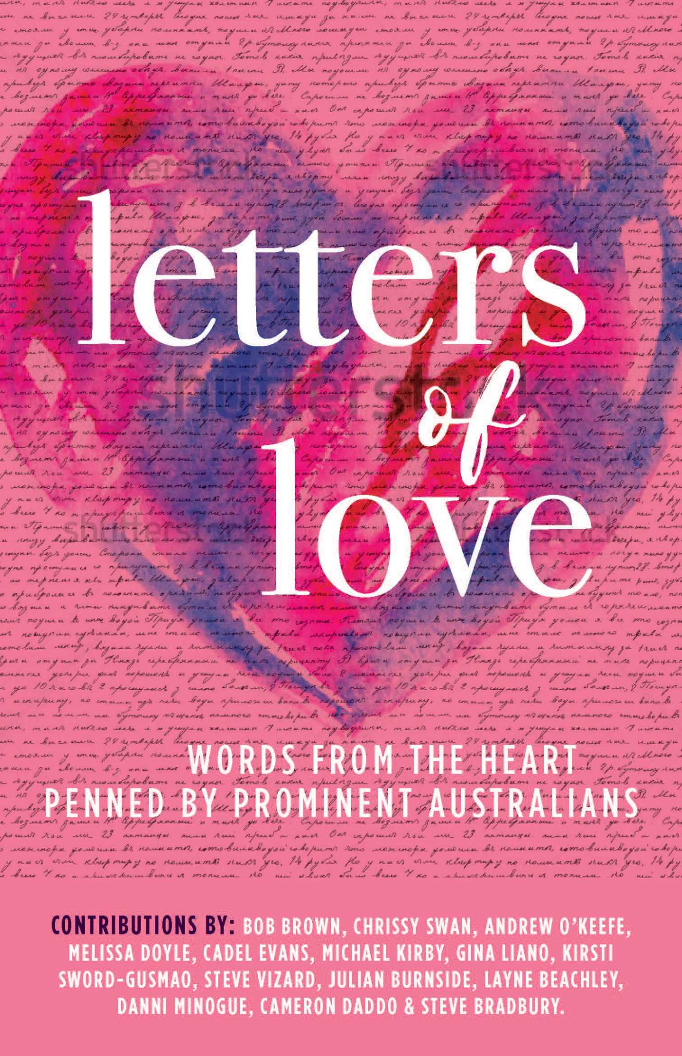 letters of love 9781925475586 hr
