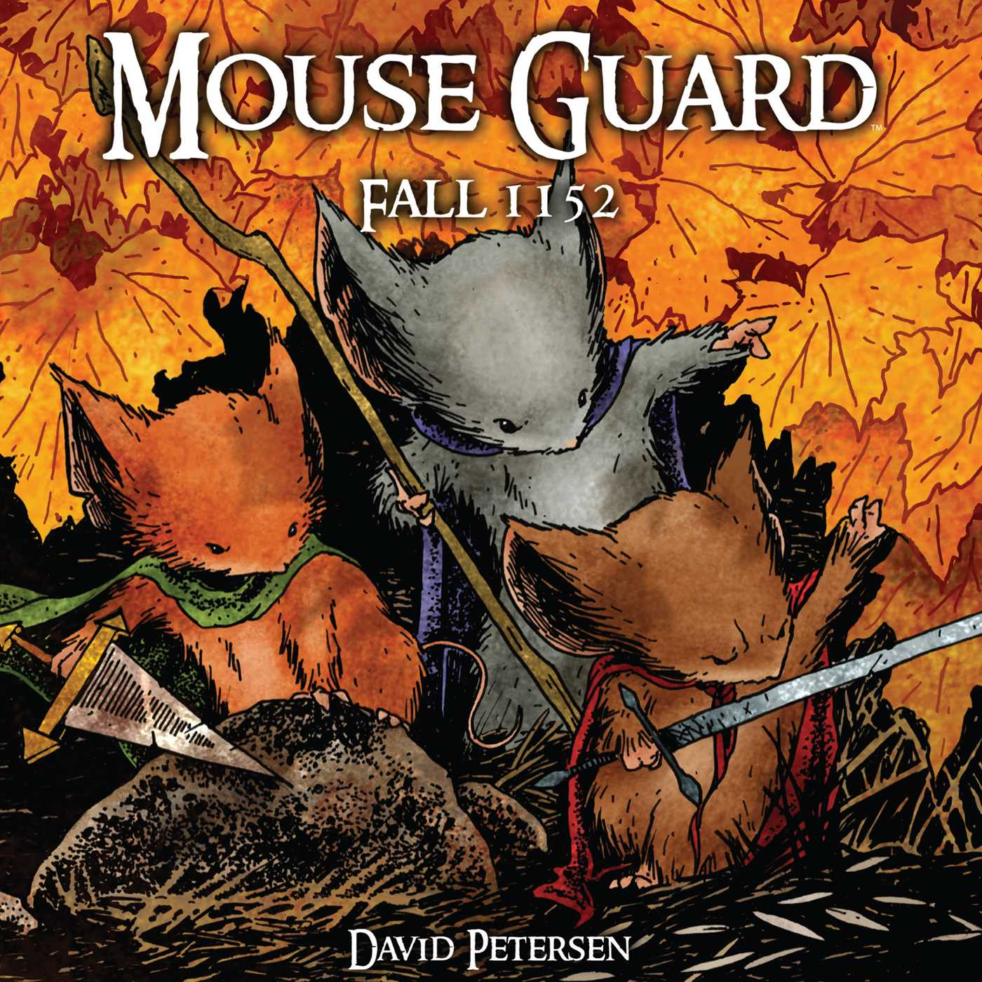 Book Cover Image (jpg): Mouse Guard Volume 1: Fall 1152
