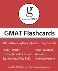 Manhattan GMAT Flashcards