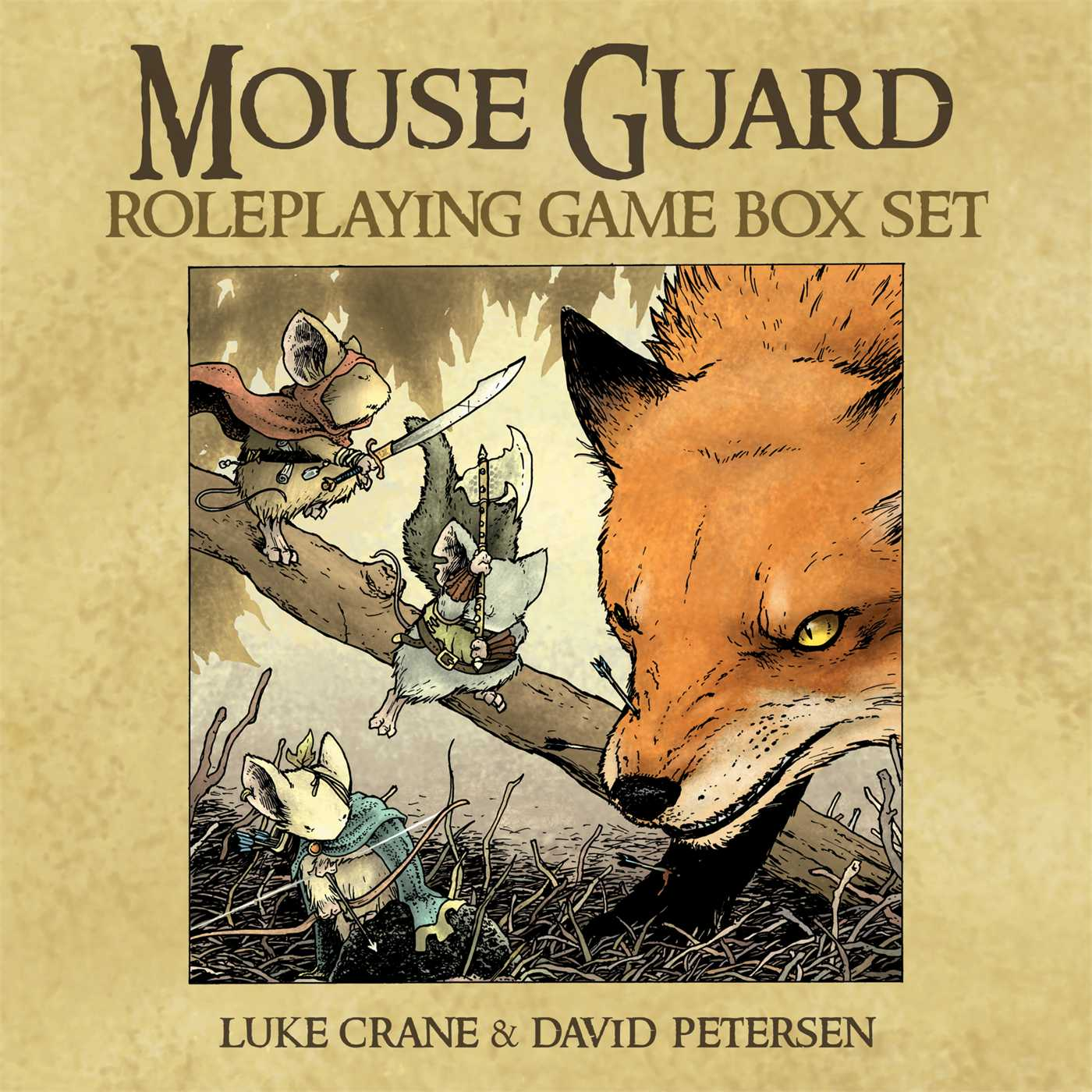 Mouse guard roleplaying game box set 9781936393176 hr