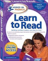 Hooked on Phonics Learn to Read - Level 4