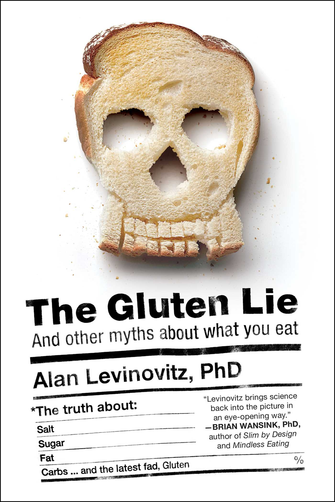 The gluten lie 9781941393062 hr